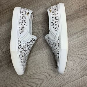 Tory Burch Perforated Sneakers Sz 9